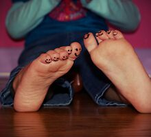 happy feet by Renee Eppler