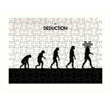 99 Steps of Progress - Deduction Art Print