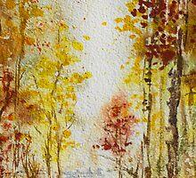 Fall Forest by Irina Sztukowski