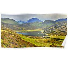 The Lake District: Blackbeck Tarn, Haystacks Poster