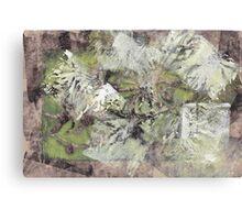 Abstract Nature Imprints Canvas Print