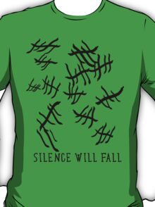 Silence Will Fall   Doctor Who T-Shirt