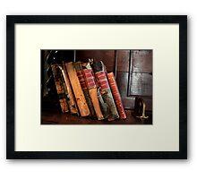The Works of Shakespeare  Framed Print