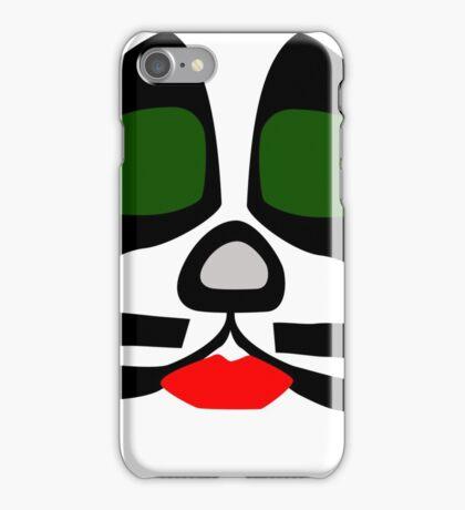 Peter Criss from KISS band, Catman makeup iPhone Case/Skin