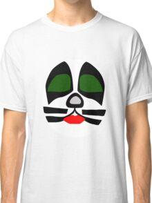 Peter Criss from KISS band, Catman makeup Classic T-Shirt