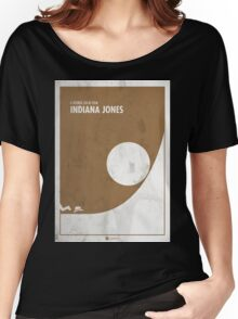 Indiana Jones Minimal Film Poster Women's Relaxed Fit T-Shirt