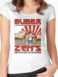 "Bubba Zen ""Walking the Path""  Women's Fitted Scoop T-Shirt"