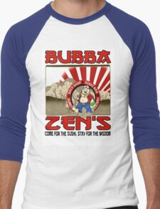 "Bubba Zen ""Walking the Path""  Men's Baseball ¾ T-Shirt"