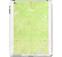 USGS Topo Map Washington State WA Aladdin Mtn 239766 1967 24000 iPad Case/Skin
