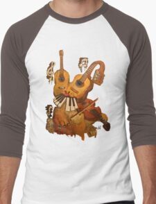 Musical Fantasy Bunny Men's Baseball ¾ T-Shirt