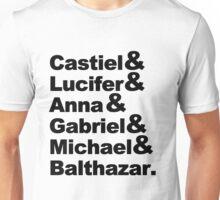 SUPERNATURAL'S ANGELS [BLACK] Unisex T-Shirt