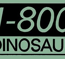 1-800 Dinosaur by chimpy2000
