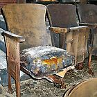 Theatre Seating at the Scranton Lace Factory by Cheri Sundra