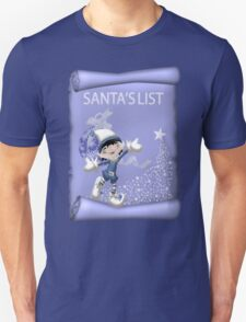 Santa`s Little Elf Unisex T-Shirt
