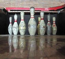 Certified Bowling Pins by Cheri Sundra