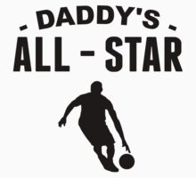 Daddy's All-Star Basketball Baby Tee