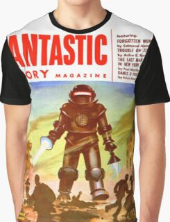 BTTF MAGAZING COVER Graphic T-Shirt