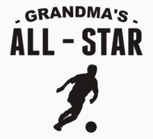 Grandma's All-Star Soccer One Piece - Long Sleeve