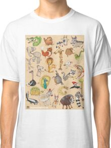 ABC Animals Classic T-Shirt