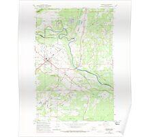 USGS Topo Map Washington State WA McKenna 242265 1959 24000 Poster
