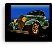 This 32 Ford Coupe Jumps Off The Page Canvas Print