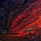 Timanfaya Abstract by Les Sharpe