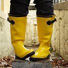 rain boots by Renee Eppler