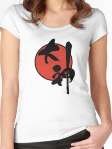 Okami 大神 Women's Fitted Scoop T-Shirt