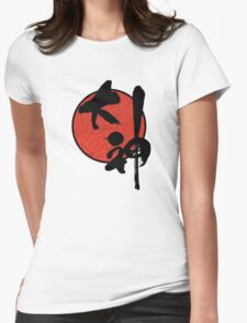 Okami 大神 Womens Fitted T-Shirt