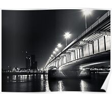 Under the Deutzer bridge Poster