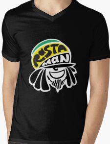 Rastaman Mens V-Neck T-Shirt