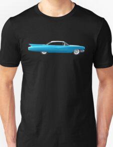 1960 Cadillac Coupe De Ville Unisex T-Shirt