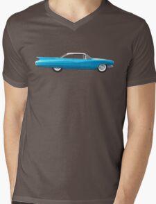 1960 Cadillac Coupe De Ville Mens V-Neck T-Shirt