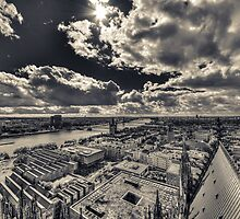 View over Cologne I by Markus Landsmann