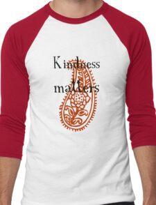 Kindness matters Men's Baseball ¾ T-Shirt