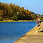 Fishing in the Fall by Susan Leonard