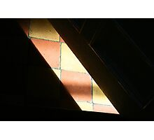 Sunlight on the Tiles Photographic Print