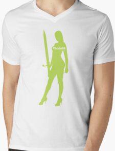 #bada55 Girl Mens V-Neck T-Shirt