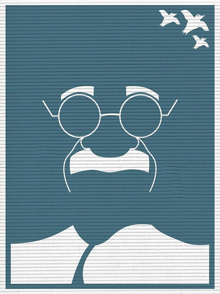 An Identity: Mahatma Gandhi by Bo Jong Kim