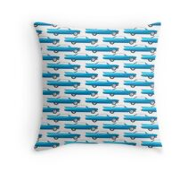 1960 Cadillac Coupe De Ville Throw Pillow