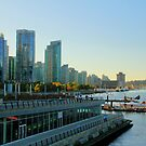 Autumn's Light on Coal Harbour 2 by Tracy Friesen