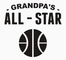 Grandpa's All-Star Basketball Kids Tee