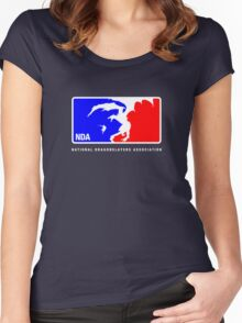 Major League Hunting Women's Fitted Scoop T-Shirt