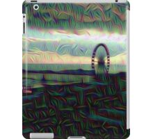 trippy brighton pier iPad Case/Skin