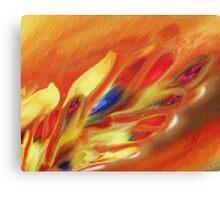 Vibrant Sensation Vivid Abstract V Canvas Print