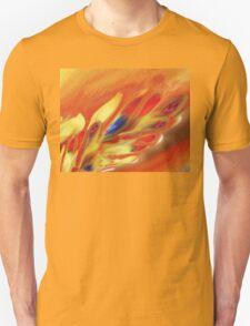 Vibrant Sensation Vivid Abstract V T-Shirt