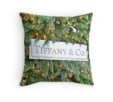 Fifth Avenue and 57th Street, New York, NY Throw Pillow