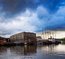 Storm Clouds over Bristol by RSPatton