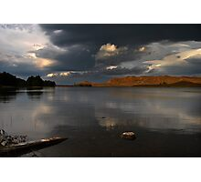 Light over The Loch Photographic Print