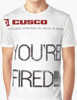 BTTF YOUR FIRED Graphic T-Shirt
